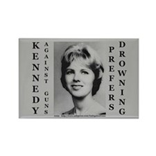 Kennedy Against Guns Rectangle Magnet