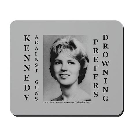 Kennedy Against Guns Mousepad
