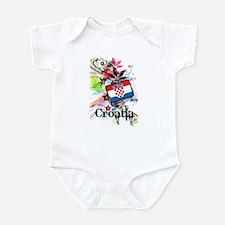 Flower Croatia Infant Bodysuit