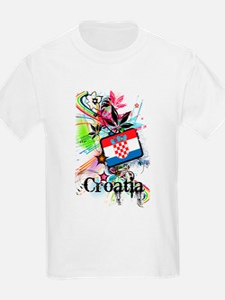Flower Croatia T-Shirt
