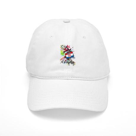 Flower Croatia Cap