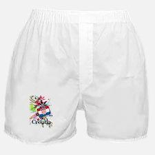 Flower Croatia Boxer Shorts