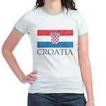 Vintage Croatia Jr. Ringer T-Shirt