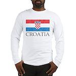 Vintage Croatia Long Sleeve T-Shirt