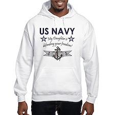 Navy - Daughter Defending Hoodie