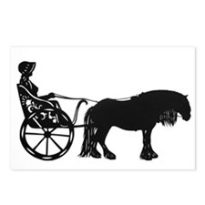 """Lady Whip and Fell Pony"" Postcards (Package of 8)"