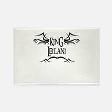 King Leilani Rectangle Magnet