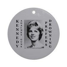 Kennedy Against Guns Ornament (Round)