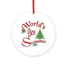 World's Best SwimmerOrnament (Round)