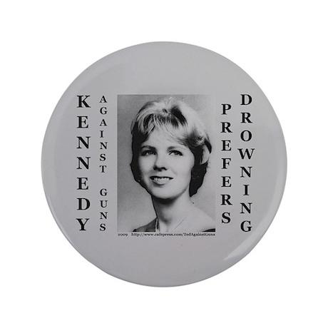 """3.5"""" Kennedy Against Guns Button (100 pack)"""