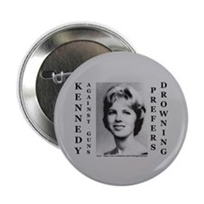 "2.25"" Kennedy Against Guns Button (10 pack)"