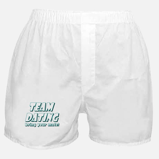 Dating- Blue Boxer Shorts