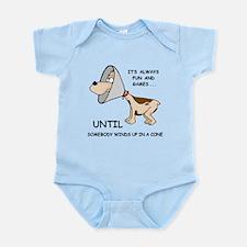 Dog Cone Infant Bodysuit