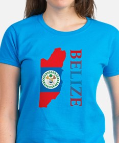 Map Of Belize Tee