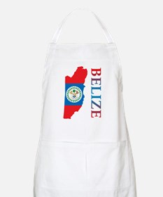 Map Of Belize BBQ Apron