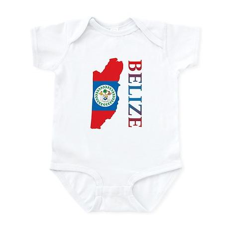 Map Of Belize Infant Bodysuit