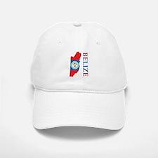 Map Of Belize Baseball Baseball Cap