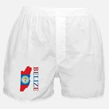 Map Of Belize Boxer Shorts