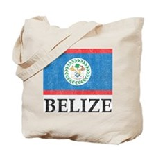 Vintage Belize Tote Bag