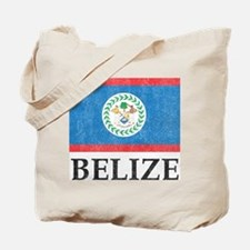 Vintage Belize Tote Bag