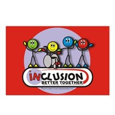 Inclusion Better Together Postcards (Package of 8)