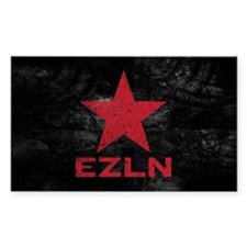 Zapatista Army Rectangle Decal