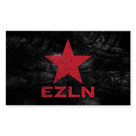 Zapatista Army Rectangle Sticker