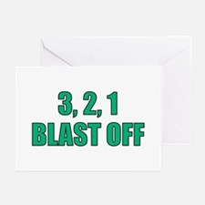 Blast Off Greeting Cards (Pk of 10)