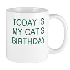 Cat's Birthday Mug