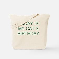 Cat's Birthday Tote Bag