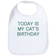 Cat's Birthday Bib