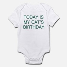 Cat's Birthday Infant Bodysuit