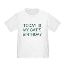 Cat's Birthday T
