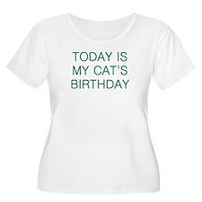 Cat's Birthday T-Shirt