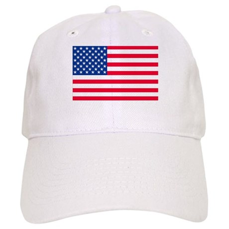 50 Star US Flag Cap