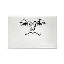 King Lina Rectangle Magnet