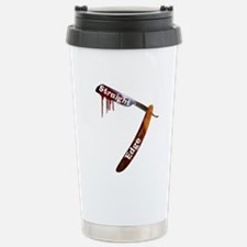 Straight Razor Stainless Steel Travel Mug