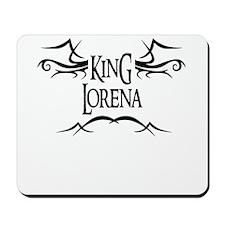 King Lorena Mousepad