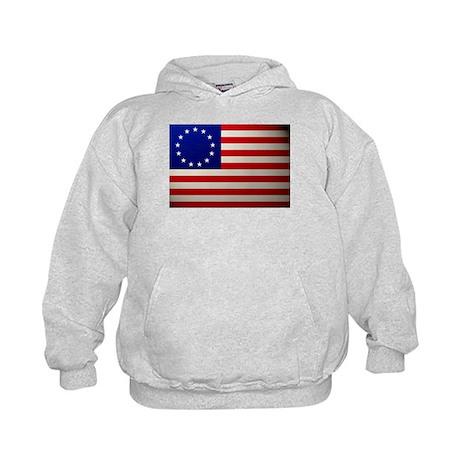 Betsy Ross Flag Kids Hoodie
