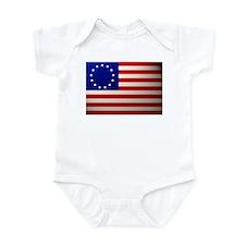 Betsy Ross Flag Infant Bodysuit
