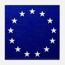 Betsy Ross Flag Tile Coaster