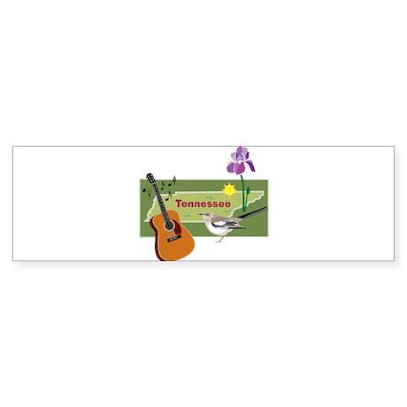 TennesseeMap Bumper Sticker