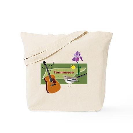 TennesseeMap Tote Bag