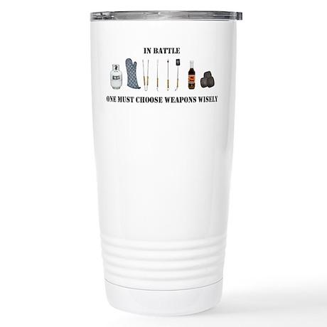 Grill Wars Stainless Steel Travel Mug