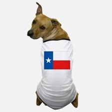 Flag of Texas Dog T-Shirt