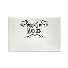 King Madisen Rectangle Magnet