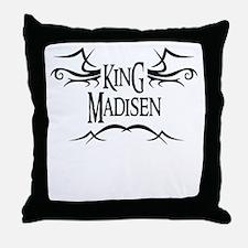 King Madisen Throw Pillow