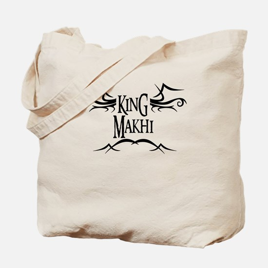 King Makhi Tote Bag