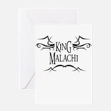 King Malachi Greeting Card