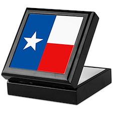 Flag of Texas Keepsake Box